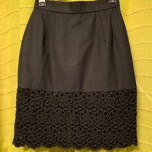 M Yoko independent designer wool skirt